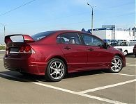 Пороги Mugen RR-style для Honda Civic 8